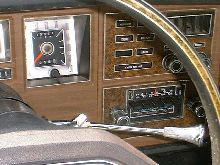 Interior right dash 1976 mk iv unrestored.