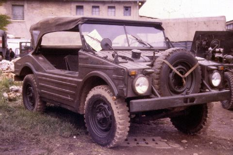 Porsche typ 597 ex-Bundeswehr, one of 3 examples owned by an italian military vehicles collector