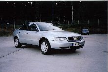 Audi A4 1.8 20V SE, standard apart from clear side repeaters and rear clusters, boot spoiler