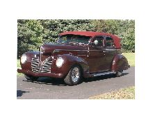 This is a 1939 Dodge D-11 Sedan