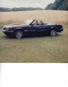 1984 Turbo Convertable. Rare, 1 of 15 with color combination.