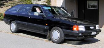 Me and my Audi 100 Avant