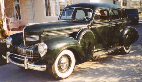 My 1939 Chrysler Imperial