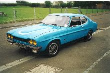 1973 Ford Capri RS2600 in Monza Blue