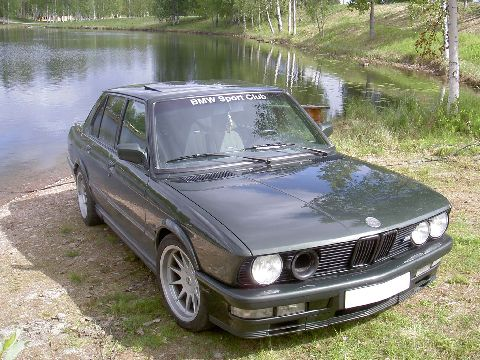 the picture you got there is on my first Bmw m535..and this is a picture of my second one:)