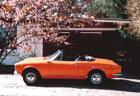 1972 Fiat 1600 Sport Spider Known As Type Fiat 124 Bs1