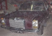 mercedes 220 D 1971 pic for you