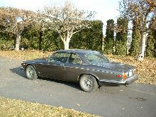 3/4 rear view of USA version of jaguar xj5.3C (called xj12c)