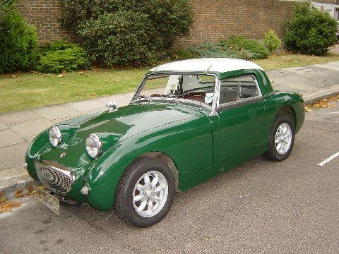 1959 Austin Healey Sprite Mk I (Frogeye) - Picture Gallery ...