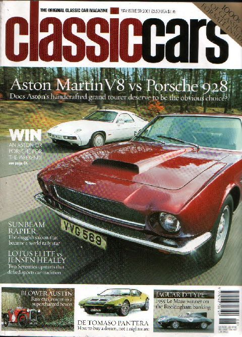 Classic Cars May 2002 cover