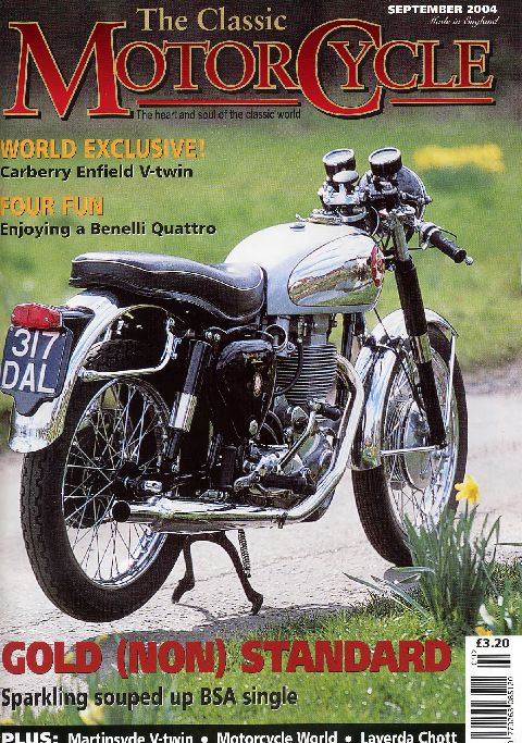 The Classic MotorCycle September 2004