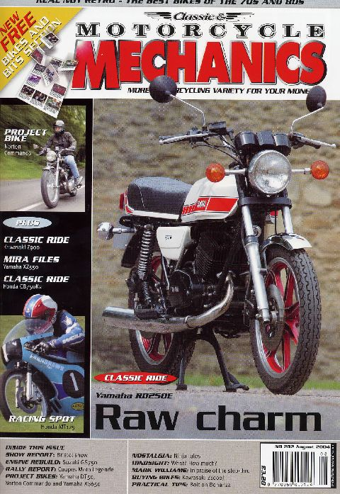 Classic & Motorcycle Mechanics August 2004