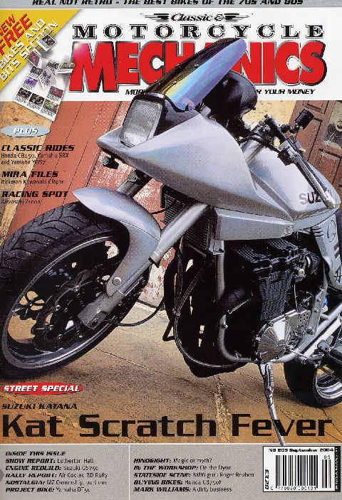 Classic & Motorcycle Mechanics September 2004