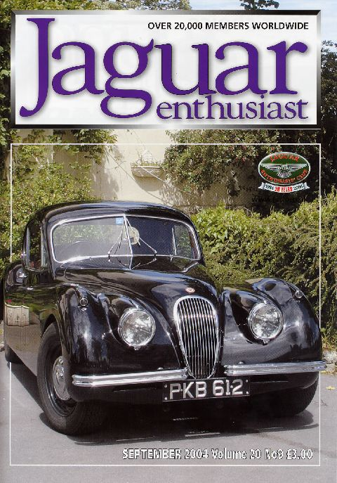 Jaguar Enthusiast September 2004