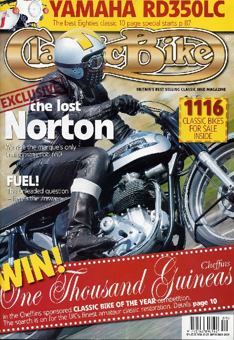 Classic Bike September 2004