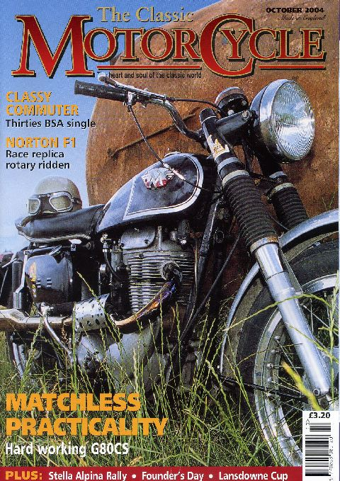 The Classic Motorcycle October 2004