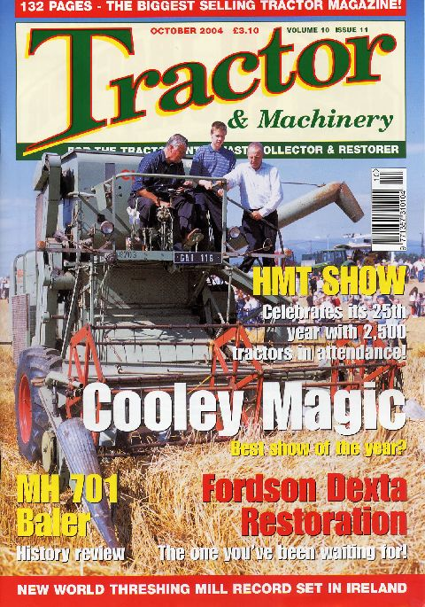 Tractor & Machinery October 2004