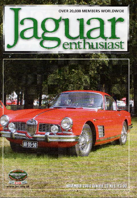 Jaguar Enthusiast November 2004