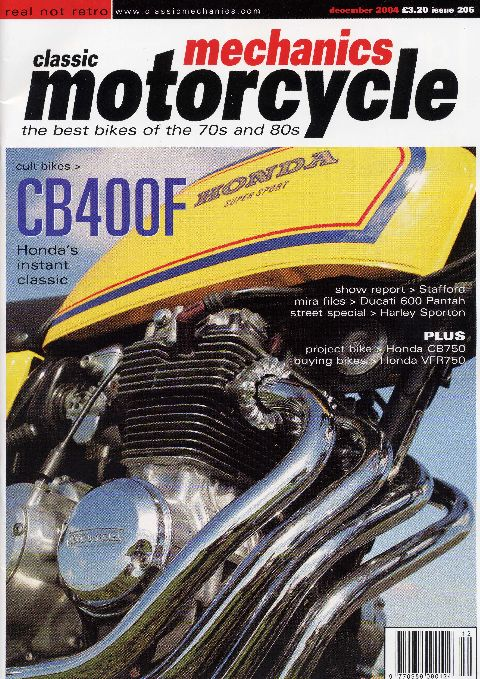 Classic Motorcycle Mechanics December 2004
