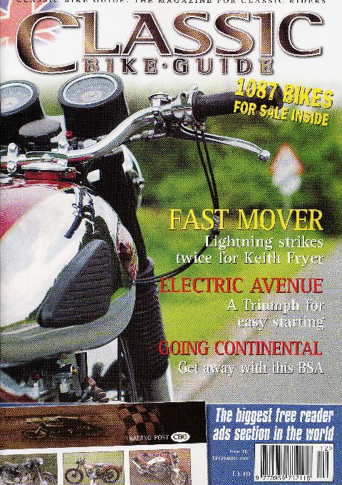 Classic Bike Guide December 2004