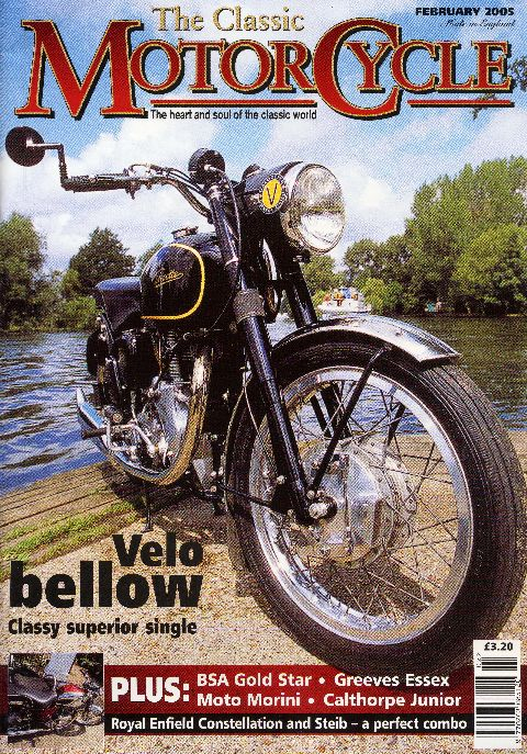 The Classic Motorcycle February 2005