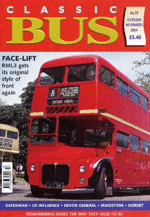 Classic Bus October/November 2004