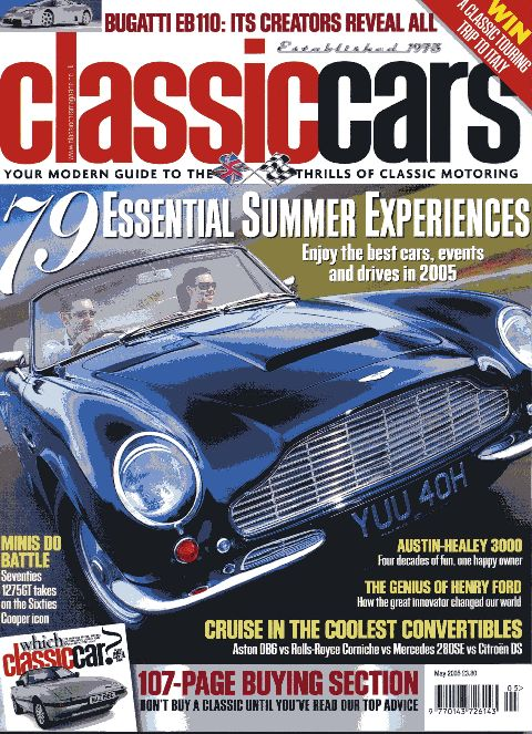 Classic Cars May 2005