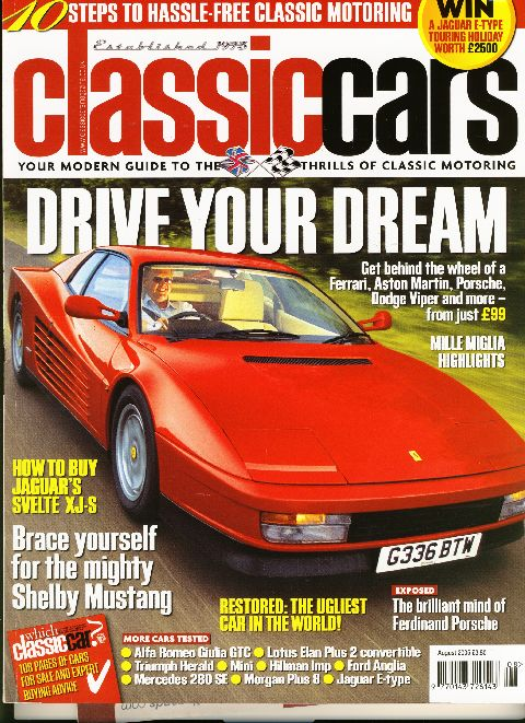 Classic Cars August 2005