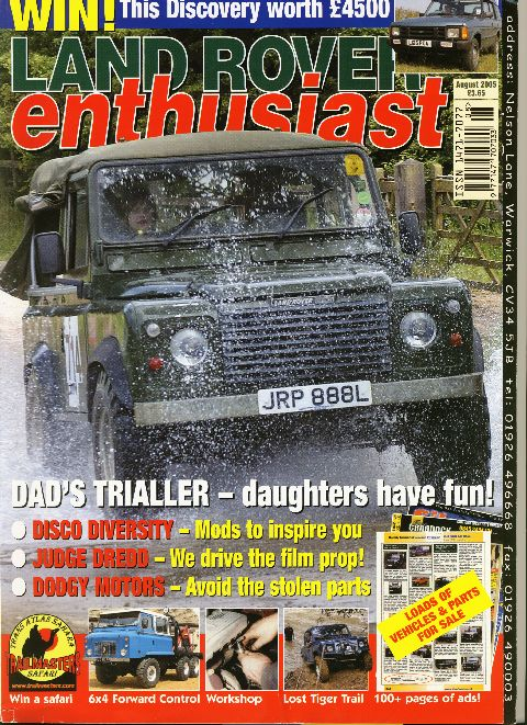 Land Rover Enthusiast August 2005