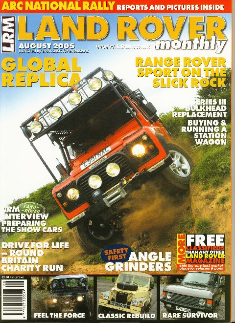 Land Rover Monthly August 2005
