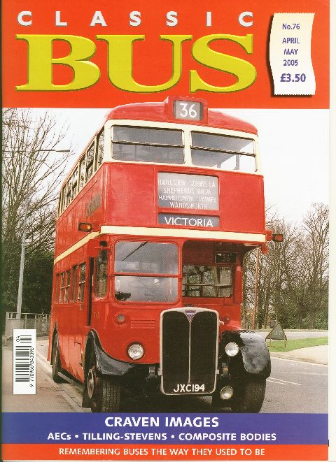 Classic Bus April/May 2005