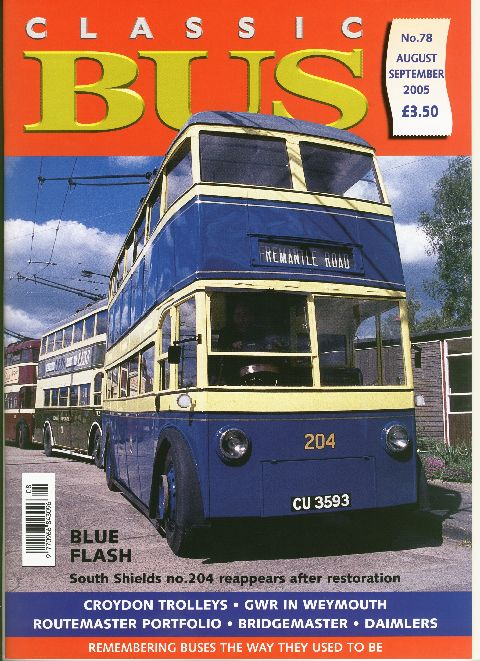 Classic Bus August/September 2005