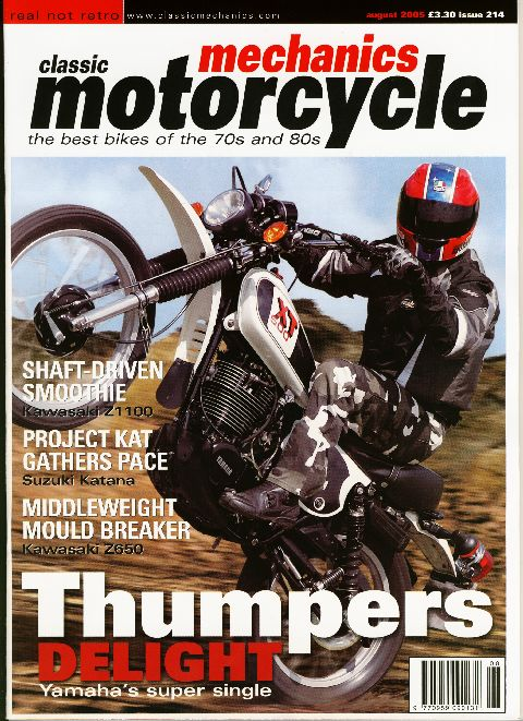 Classic & Motorcycle Mechanics August 2005