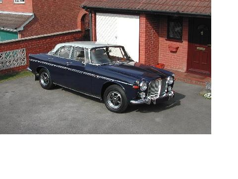 Rover P5B 3.5 litre Coupe