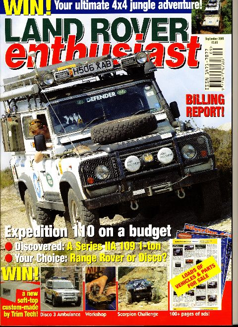 Land Rover Enthusiast September 2005