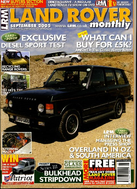 Land Rover Monthly September 2005