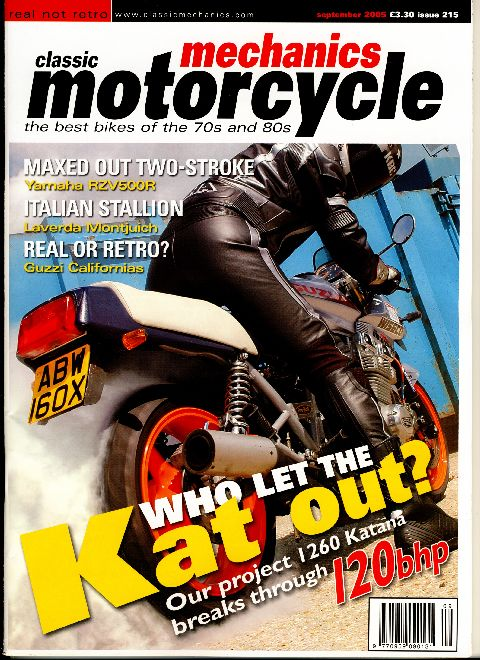Classic & Motorcycle Mechanics September 2005