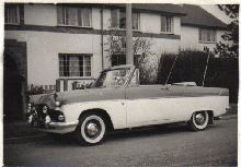 Ford Zephyr II Convertible