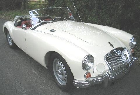 MG A Twin-cam