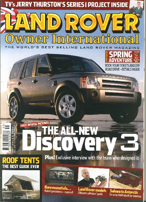 Land Rover Owner International May 2004