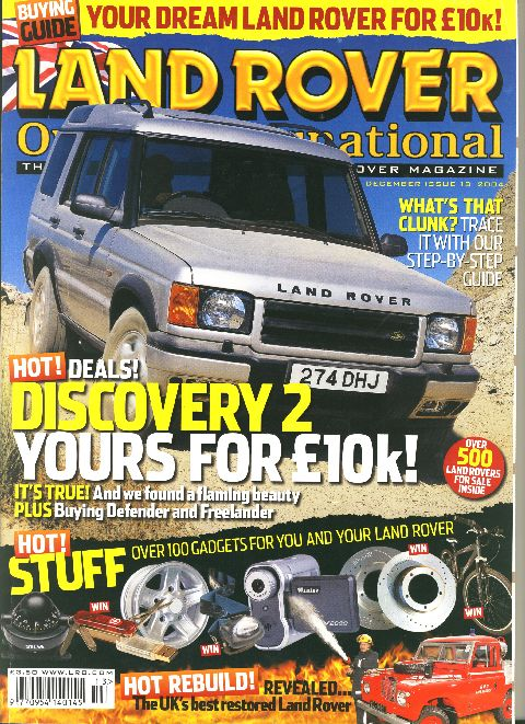 Land Rover Owner International December 2004