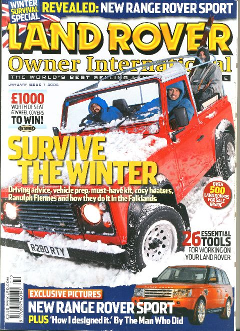 Land Rover Owner International January 2005