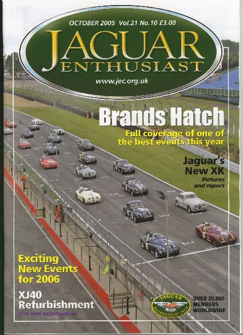 Jaguar Enthusiast October 2005