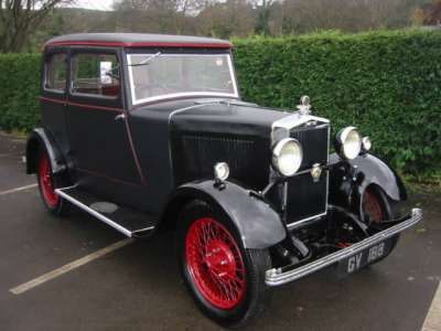 Morris Major Vehicle Summary Motorbase