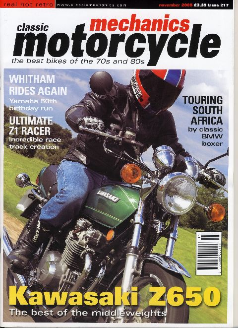 Classic & Motorcycle Mechanics November 2005