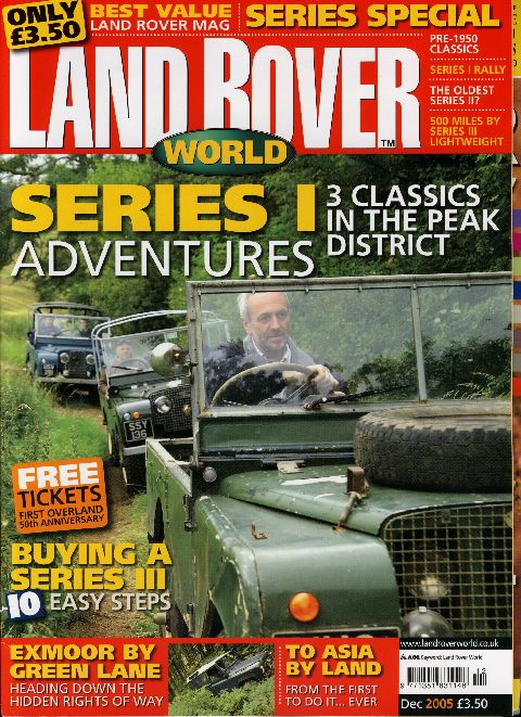 Land Rover World December 2005