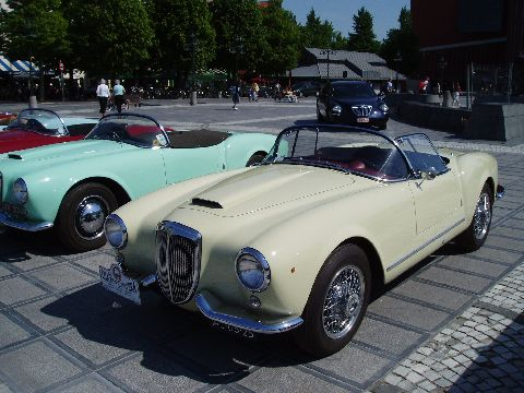 Lancia Aurelia B24 Spider and Convertible