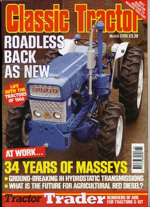 Classic Tractor March 2006