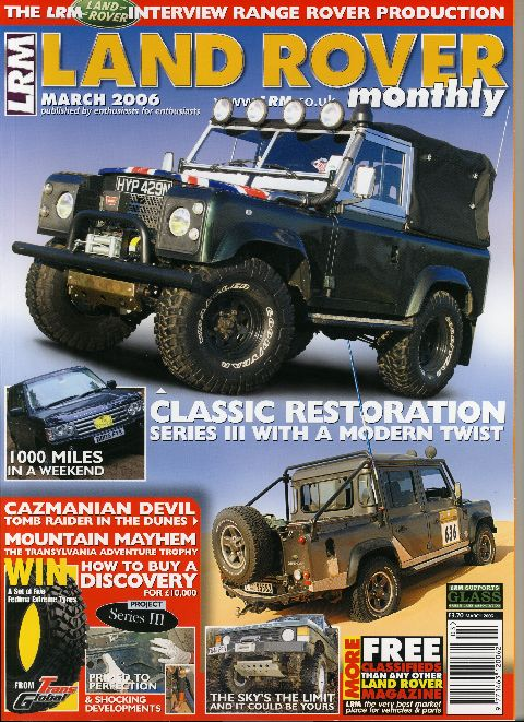 Land Rover Monthly March 2006