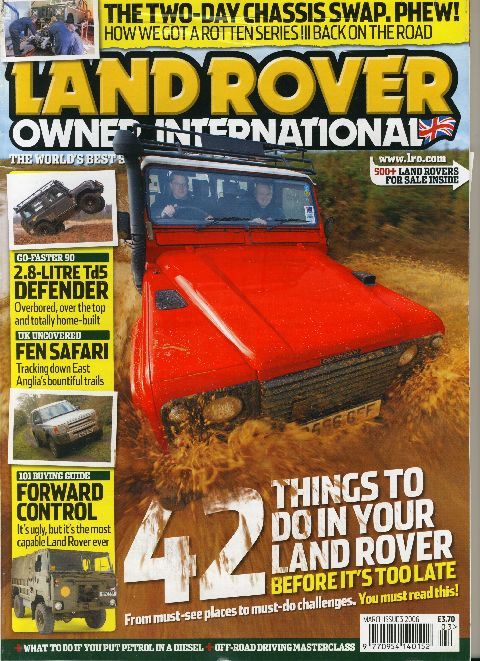 Land Rover Owner International March 2006